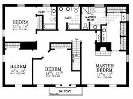 house plans with 4 bedrooms classic image of house plan 4 bedroom house floor plans home