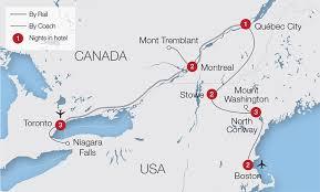 new england central railroad map usa train tours rail tours great rail journeys