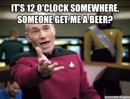 Beer O Clock Meme - thirty