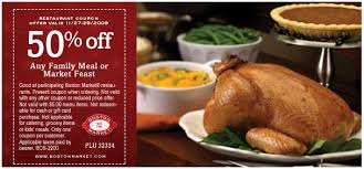 boston market 50 any family meal or market feast 11 27 11