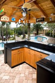 outdoor modern cover patio wood outdoor kitchen cabinets with