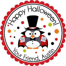 Halloween Stickers 33 Best Personalized Halloween Stickers Images On Pinterest