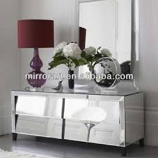 mirrored living room furniture modern mirrored living furniture tv console table buy mirrored