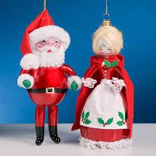 de carlini italian ornaments de carlini mr mrs santa