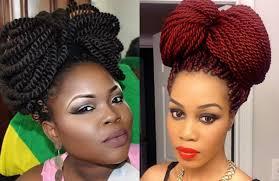 lovely box braids bow bun hairstyles blackhairlab com