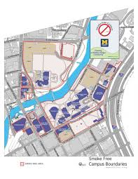 University Of Michigan Campus Map by Smoke Free Campus University Of Michigan Flint