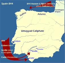 Asturias Spain Map by