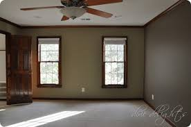 interesting living room colors with oak trim contemporary cool