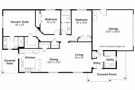 Floor Plans For 1500 Sq Ft Homes 12 Rectangle House Plans Ranch Bedroom Style Rectangular 1500 Sq