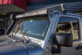 jeep jk light bar brackets free shipping baja designs onx6 50 jeep jk light bar kit 457503