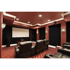 foss quietwall 108 sq ft oyster acoustical noise control textile oyster acoustical noise control textile wall covering and home theater