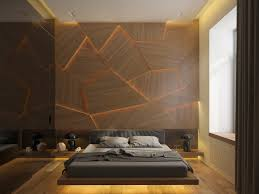 http b 3ddd ru media gallery images 561cfac4e810e jpeg this bedroom takes texture to the next level using molded wall panels combined with creative dynamic lighting