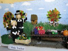 thanksgiving diorama melinda 1 thanksgiving dioramas dan burung