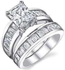 black cubic zirconia engagement rings radiant cut cubic zirconia cz engagement rings for