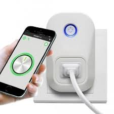 smartphone controlled outlet itd gear wifi power outlet w remote control app works w alexa