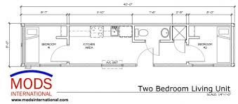 Storage Container Floor Plans - luxurious and splendid 10 60 ft shipping container home floor