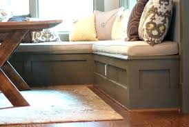 built in kitchen bench seating with storage image of kitchen bench