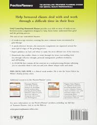 Grief Worksheets Grief Counseling Homework Planner Phil Rich 9780471433187