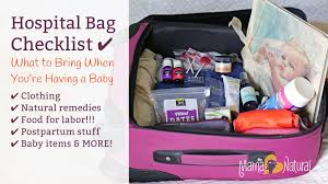 Postpartum Gift Basket Hospital Bag Checklist What To Bring When You U0027re Having A Baby