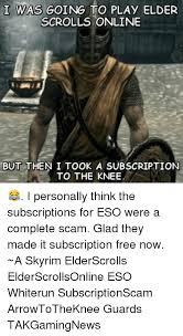 Elder Scrolls Online Meme - 25 best memes about elders scroll online elders scroll