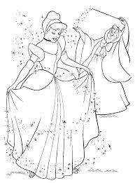 30 Cinderella Images Coloring Disney