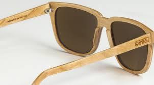 capital handcrafted wood sunglasses freshborn market