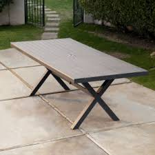with umbrella hole outdoor dining tables hayneedle