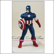 iron cake topper never fear these avenger cake toppers are here captain america