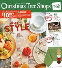 christmas tree shops flyer