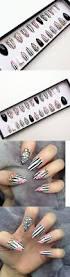 press on nails vintage stick on nails pack of 24 krazy nails