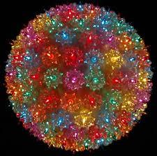 starlight led christmas lights 150 led multi colored starlight sphere novelty lights inc