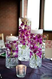 Purple Floating Candles For Centerpieces by 16 Stunning Floating Wedding Centerpiece Ideas Wedding