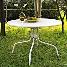 Tile Top Dining Tables White Patio Dining Table