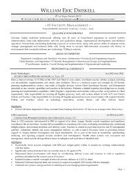 resume samples uva career center it security consultant sample