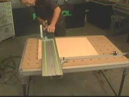 portable track saw table festool mft multifunction table presented by woodcraft youtube