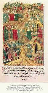 russian land invasion batu problem tatar