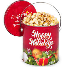 cookies for santa popcorn tin by kingofpop