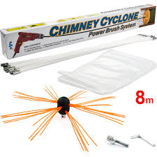 s4u chimney cyclone power chimney sweeping set 8m 10m and 12m