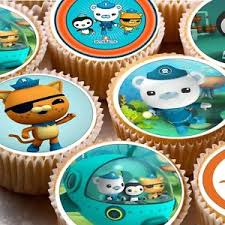 octonauts cake toppers 24 icing cake toppers decorations octonauts octonaughts octonuats