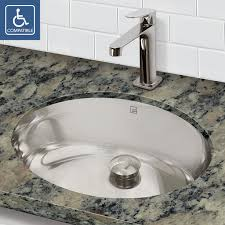 bathrooms design bathroom sinks stainless steel undermount lowes