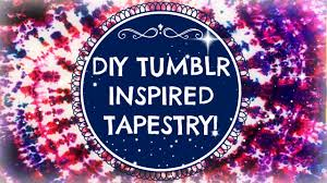 Tapestry On Bedroom Wall Diy Inspired Wall Tapestry Youtube