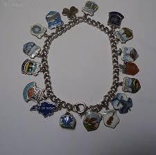 solid silver charm bracelet images Antiques atlas vintage jewellery solid silver charm bracelet 1960 jpg