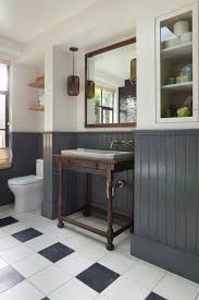 Gray And Black Bathroom Ideas Best 25 Wainscoting Bathroom Ideas On Pinterest Bathroom Paint