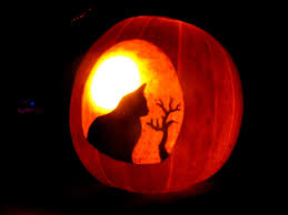 interior amusing best cool creative scary halloween pumpkin