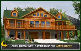 log home floor plans with basement aspen grove log cabin floor plans