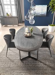 Black Oval Dining Room Table - malone oval dining table