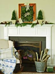 How To Decorate A Mantel For Christmas How To Make Boxwood Christmas Topiaries Hgtv