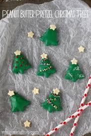 peanut christmas tree peanut butter pretzel christmas trees wine glue
