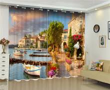 Hotel Drapes Popular City 3d Curtains Buy Cheap City 3d Curtains Lots From