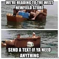 Meanwhile In Texas Meme - meanwhile in texas redneck flooding meme generator